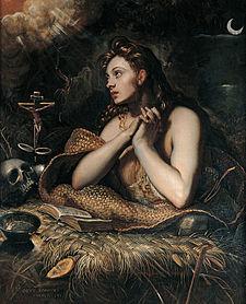 Domenico Tintoretto, The Penitent Magdalene, c. 1598
