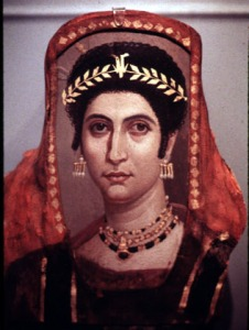 The Bible depicts Jezebel as an evil, headstrong heathen. Was she? (This image: coffin portrait of a 2nd century woman)