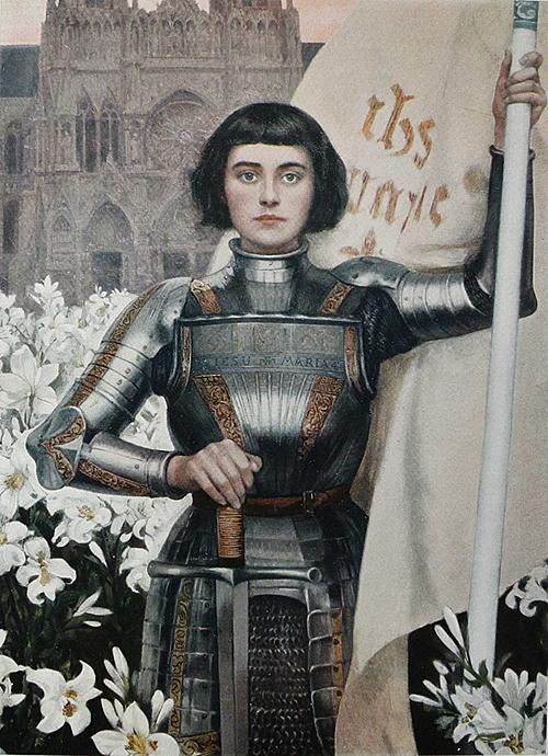 Joan of Arc by Albert Lynch (1851-1912)