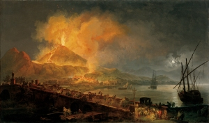 The Eruption of Mt. Vesuvius 79AD Volaire 1777AD