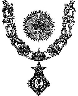 The Most Exalted Order of the Star of India is an order of chivalry founded by Queen Victoria in 1861. The Order includes members of three classes: Knight Grand Commander (GCSI) Knight Commander (KCSI) Companion (CSI)