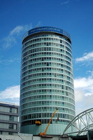 The Rotunda is a cylindrical highrise