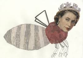 Queen Elizabeth II Queen Bee by Amy White