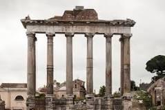 Temple of Saturn Regione VIII Forum Romanum
