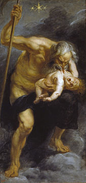Peter Paul Rubens' more Baroque-style Saturn Devouring His Son (1636) may have inspired Goya.
