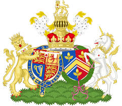 Combined coat of arms of William and Catherine, the Duke and Duchess of Cambridge