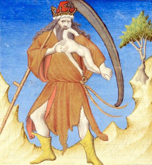Boccaccio, Des cas des nobles hommes et femmes, Paris ca. 1410 Bibliothèque de Genève, Ms. fr. 190/1, fol. 11v