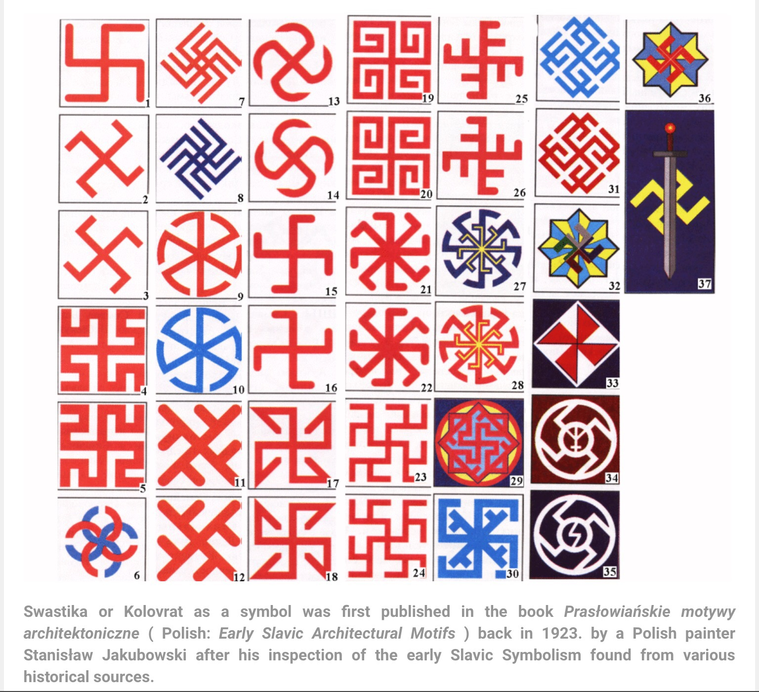History And Meaning Of Slavic Swastikakolovrat Twiggietruth