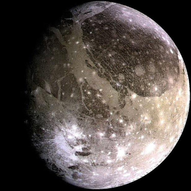Jupiter Ganymede