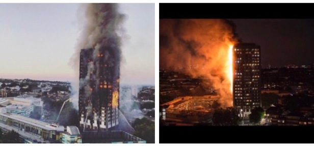 Grenfell tower, Wednesday 14th June 2017