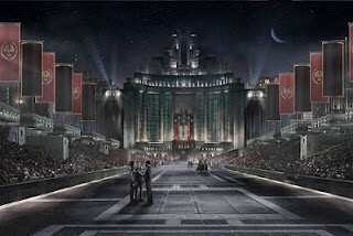 Avenue of the Tributes, Capitol City - Hunger Games (2012)