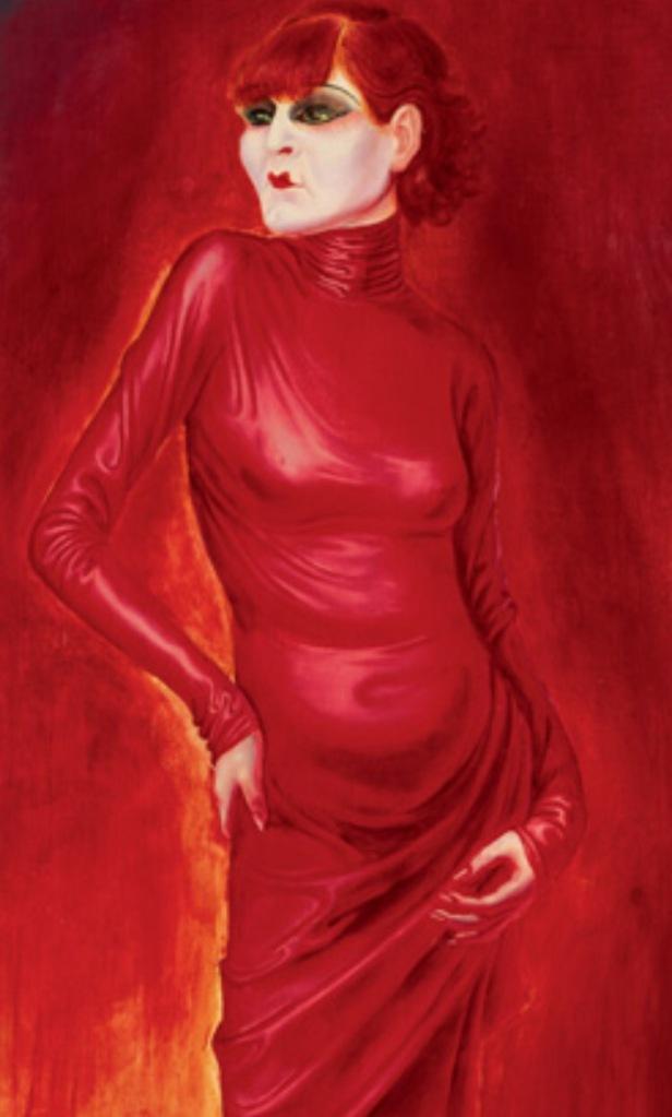 Otto Dix Portrait of the Dancer Anita Berber 1925